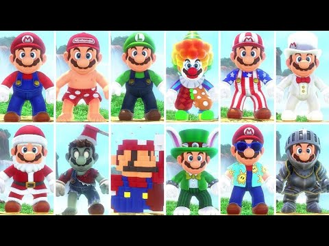 super-mario-odyssey---all-costumes-(dlc-included)