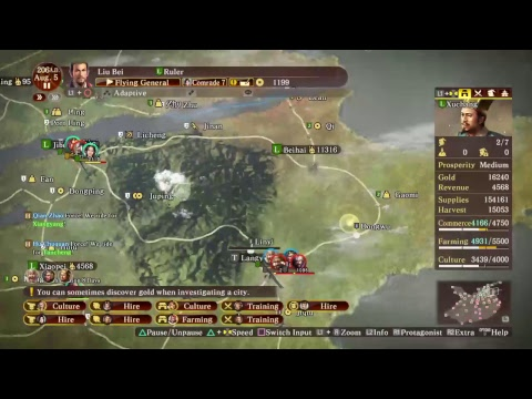199 Four tribes 6 countries Liu bei expert no cheat non stop Part 1