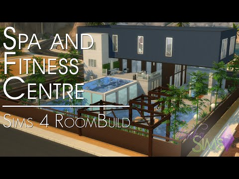 The Sims 4 Speed Build - Spa and Fitness Centre