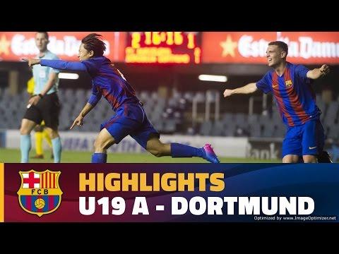 [HIGHLIGHTS] YOUTH LEAGUE: FC Barcelona – Borussia Dortmund (4-1)
