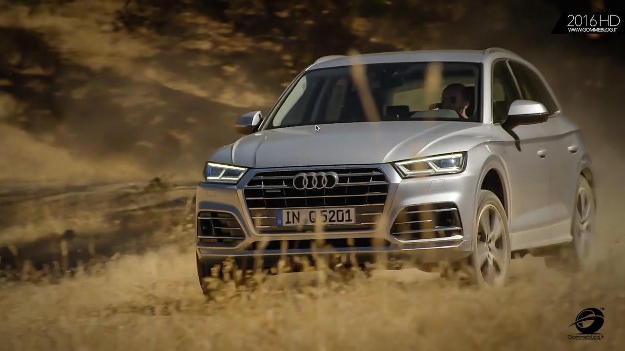2016 Audi Q5 >> 2017 AUDI Q5 - OFFROAD Driving - OFFICIAL FOOTAGE - YouTube