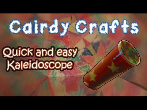 How to make an easy Kaleidoscope