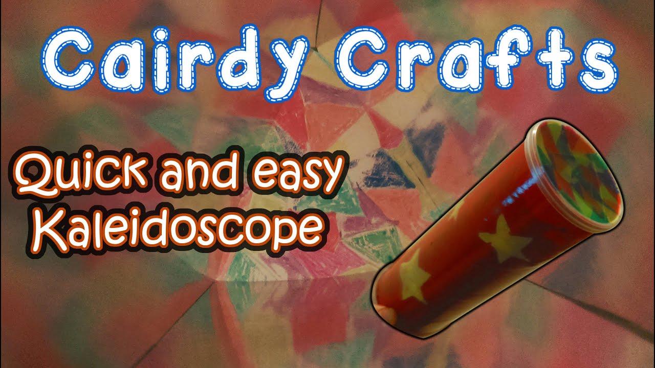 How to make an easy Kaleidoscope - YouTube