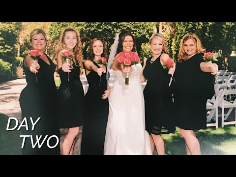 ALMOST MISSED MY MOMS WEDDING!! | day two travel vlog
