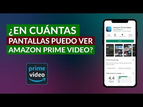 En Cuantos Dispositivos a la vez Puedo Usar Amazon Prime Vídeo