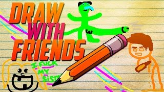 Draw with Friends Funny Moments! - Squidward Gone Wrong!