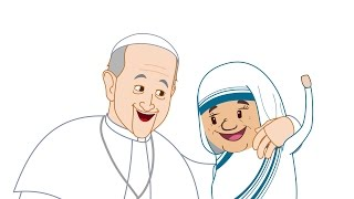 The Pope Francis Minute: The First Animation of the Life of St. Mother Teresa