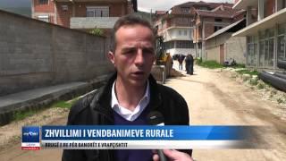 zhvillimi i vendbanimeve rurale rruge e re per banoret e vrapcishtit