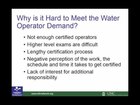 Webinar: Keys to Recruiting Qualified Water Utility Staff