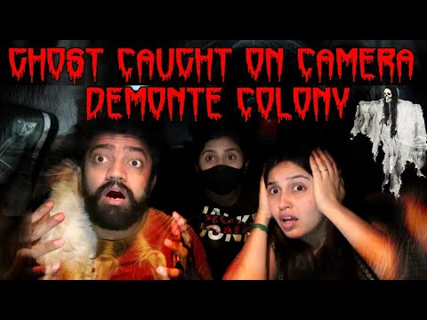 GHOST HUNTING GONE WRONG☠️😱| VISITING DEMONTE COLONY AT MIDNIGHTIGHT👹☠️💀 #vivekjadoo #ghost