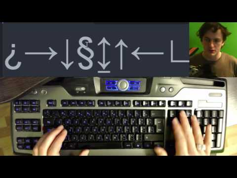 Как написать крестик на клавиатуре