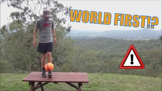 Soccer/Football Juggling RECORD - 4651 Times on TABLE