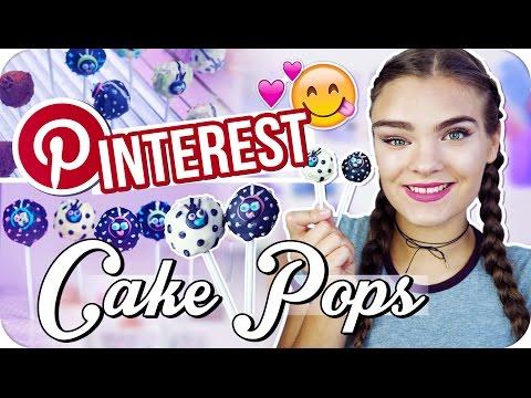 PINTEREST CAKE POP CHALLENGE ◆ Marienkäfer Cake-Pops backen // I