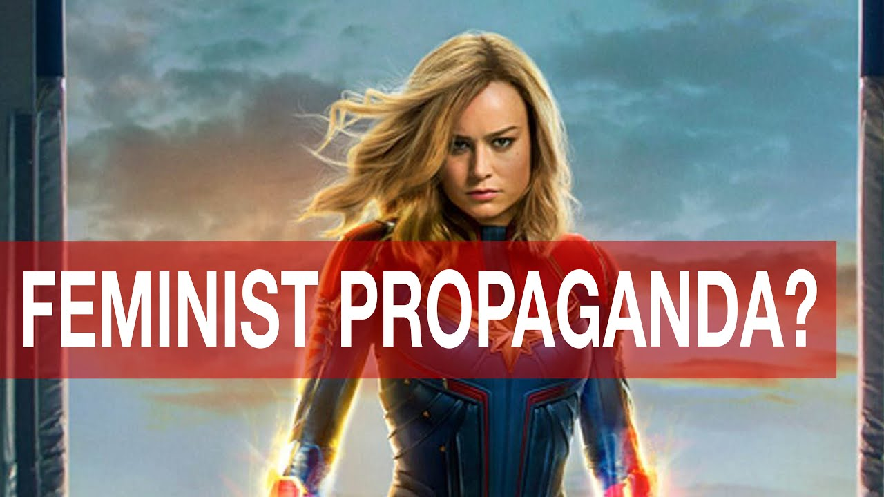 "captain marvel feminist propaganda? ""captain marvel took me 'd' away"