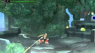 Megaman X8 Glitch Flying Zero (Rasetusen) & Bug Frozen Room