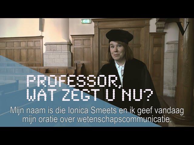 Professor wat zegt u nu? - de Volkskrant