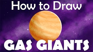 Tutorial: How to Draw Gas Giant Planets