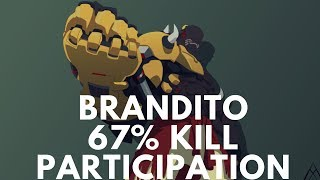 Overwatch Doomfist God Brandito Monster Gameplay With 67% Kill Participation