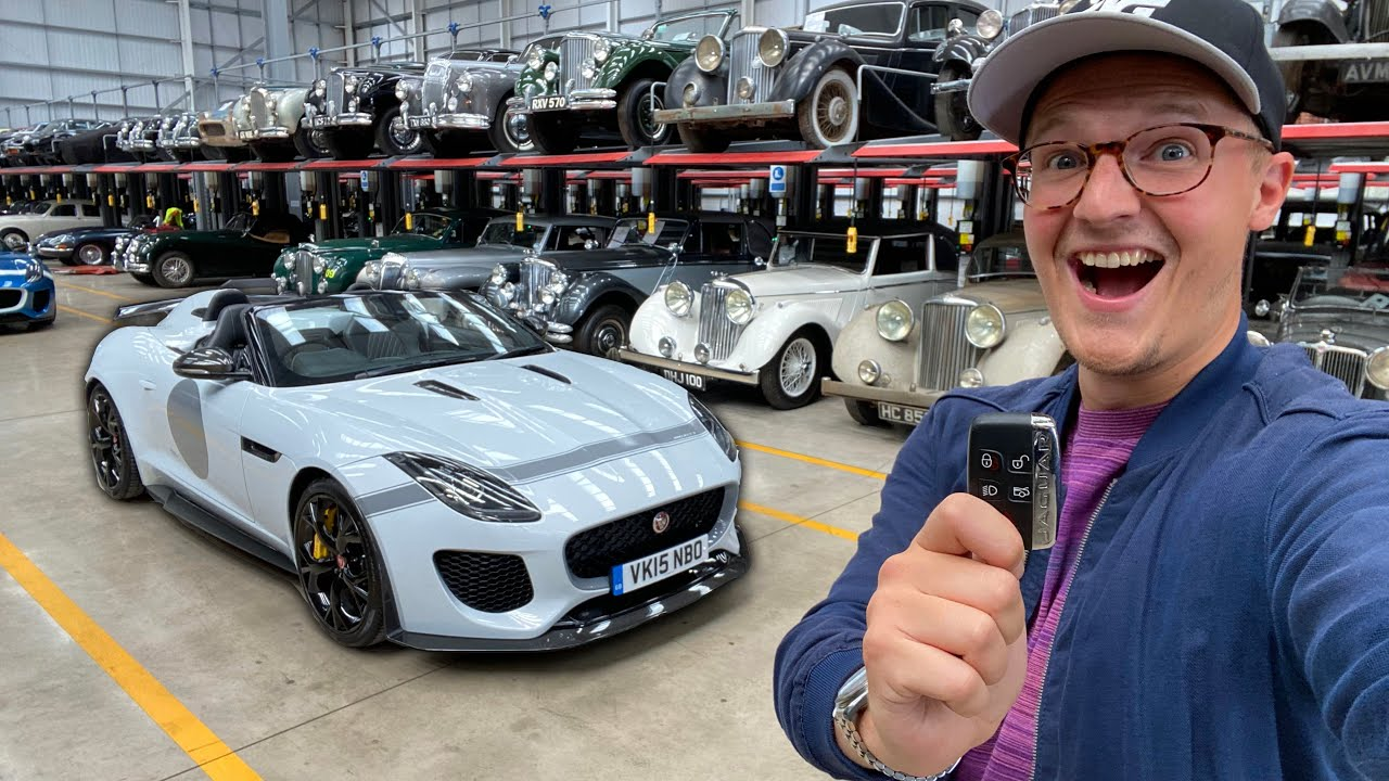 My Next F-Type? Collecting A Project 7! [Part 1]