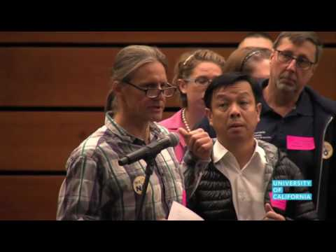 UPTE-CWA Local 9119 Offshoring Testimony | UC Board of Regents | CWA Video