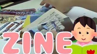 書泉ブックマートで開催されたワークショップの様子です。ZINEの作り方...