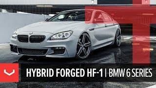 Vossen Hybrid Forged HF-1 Wheel   BMW 6 Series   Tinted Matte Gunmetal