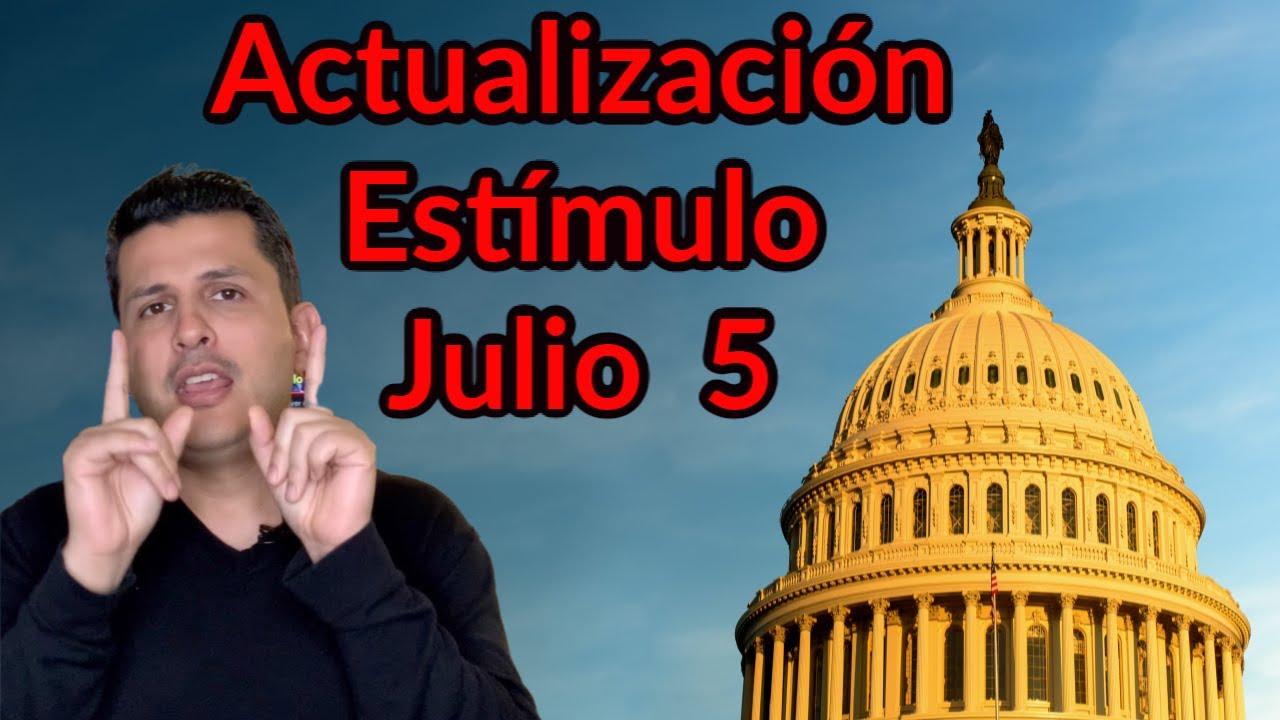 Actualización Estímulo Económico, Julio 5 | Howard Melgar