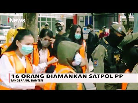 Razia Panti Pijat Di Tangerang, 16 Orang Diamankan - INews Pagi 24/10
