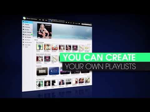 Music Unlimited Tutorial: Create and Share Playlists