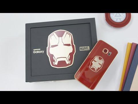 Iron Man Edition Samsung Galaxy S6 Edge!