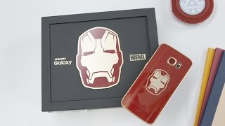 Iron Man Edition Samsung Galaxy S6 Edge!