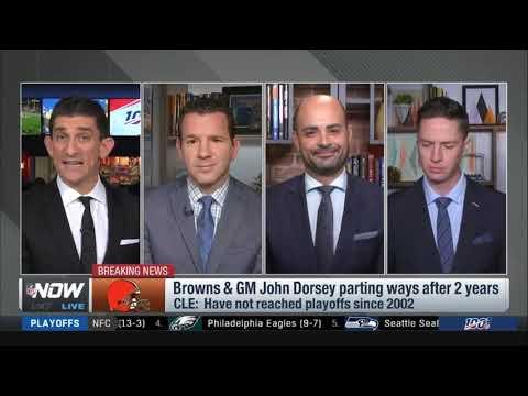 Ian Rapoport report: Browns & GM John Dorsey parting ways after 3 season