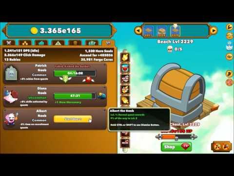 how to get mercanaries in clicker hero