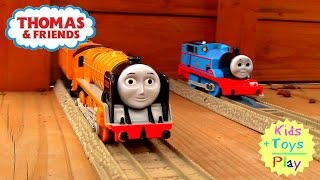 Thomas and Friends Railway | Thomas Train Trackmaster Outdoor Train Track Backyard Playtime!