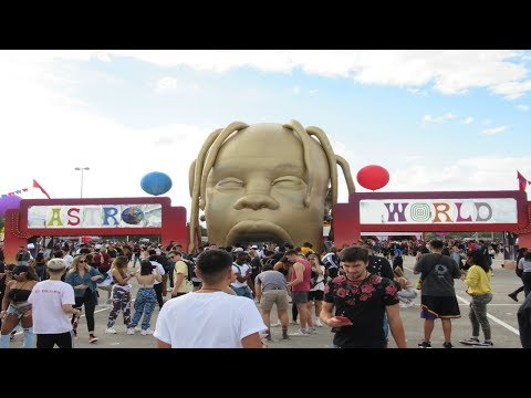 Astroworld Festival(I Went To Astroworld & Shot This Video)(Vlog#9)