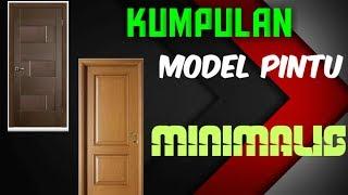 KUMPULAN MODEL PINTU KAYU MINIMALIS