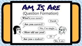 Is Am Are Questions Exercises Youtube