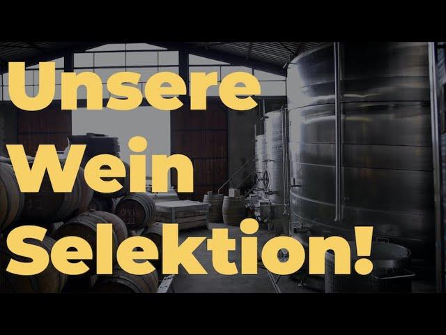 Unsere KERNenergie Wein Selektion!