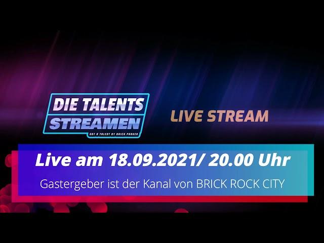 INFO : Steinekeller ist live dabei ! -  DIE TALENTS STREAMEN -