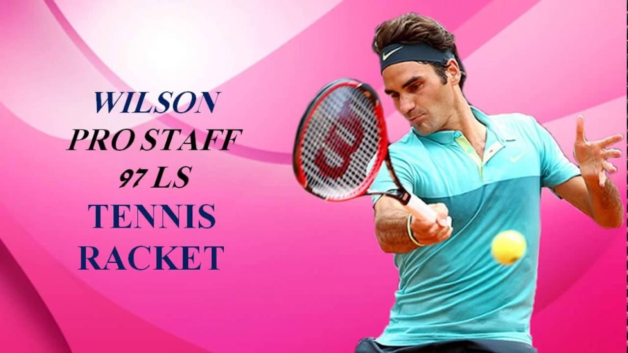 aea201ae4 Wilson Pro Staff 97LS Tennis Racket - YouTube