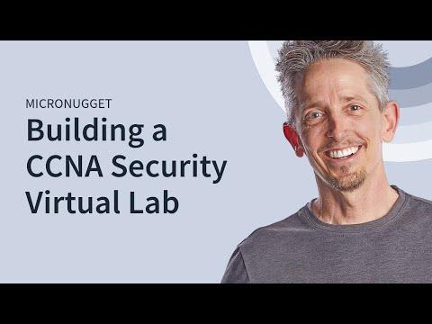 Building a Cisco CCNA Security Virtual Lab