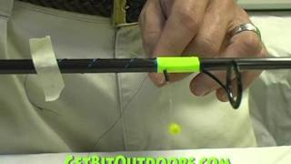 Step 7A: Hand Guide Wrapping- Rod Building Made Easy
