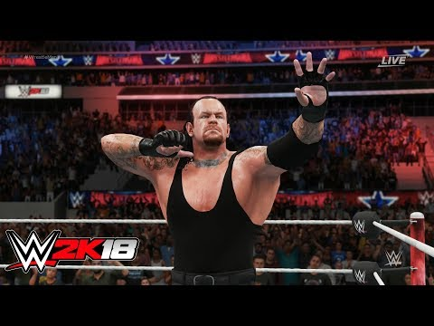 WWE 2K18 TRIPLE H vs THE UNDERTAKER Hell In a Cell