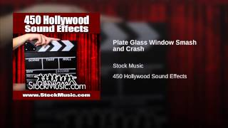 Plate Glass Window Smash and Crash