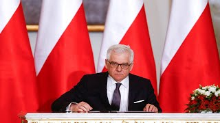 Глава МИД Польши срочно выехал на Украину из-за обострения конфликта на Донбассе