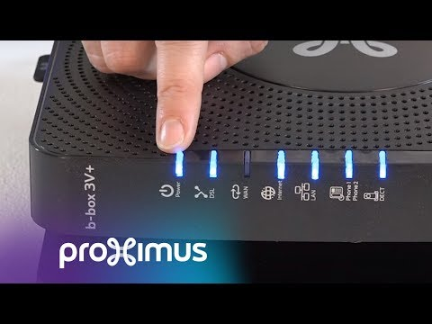 LEDs on your modem | Proximus