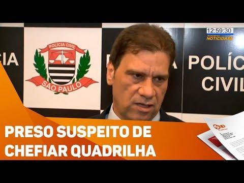 Preso suspeito de chefiar quadrilha de roubo de carros na região - TV SOROCABA/SBT