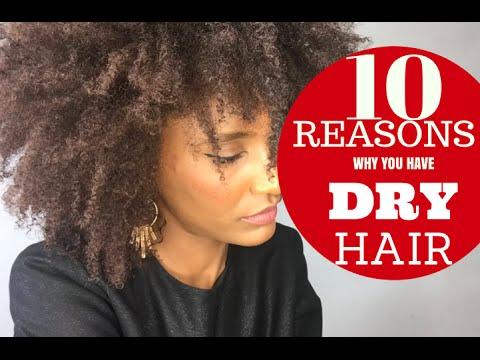 reasons dry hair