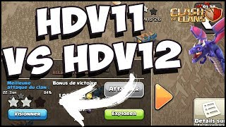 PLANIFICATION D'UNE ATTAQUE HDV11 VS HDV12 | CLASH OF CLANS