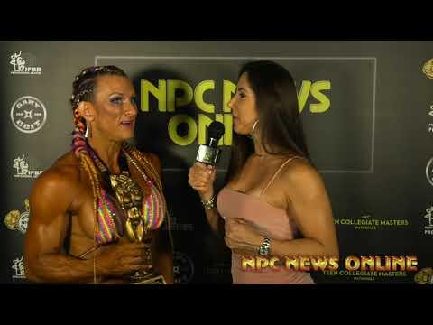 2020 IFBB Pittsburgh Pro Masters Championships Women's Bodybuilding  Winner SHEA MENCHACA